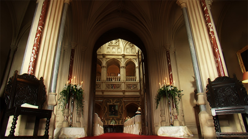 Highclere Entrance Hall